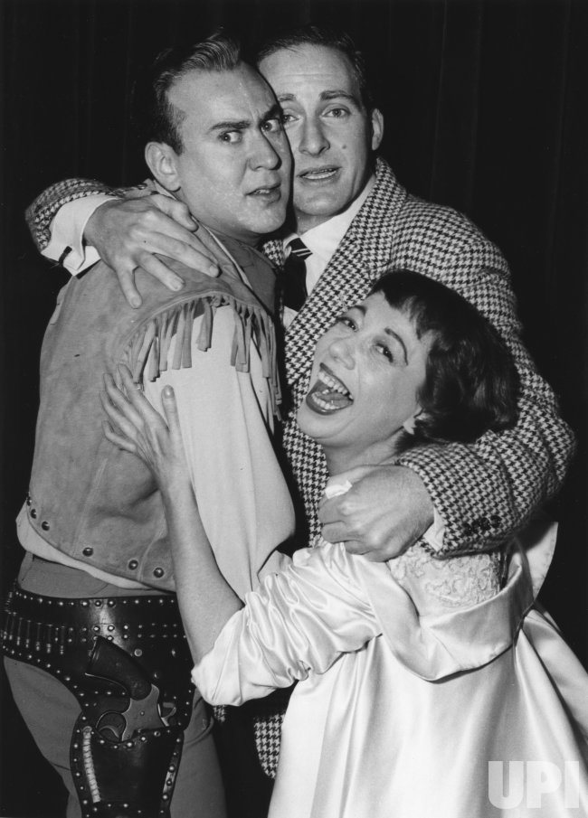 Triple comedy team of Carl Reiner, Sid Caesar and Imogene Coca