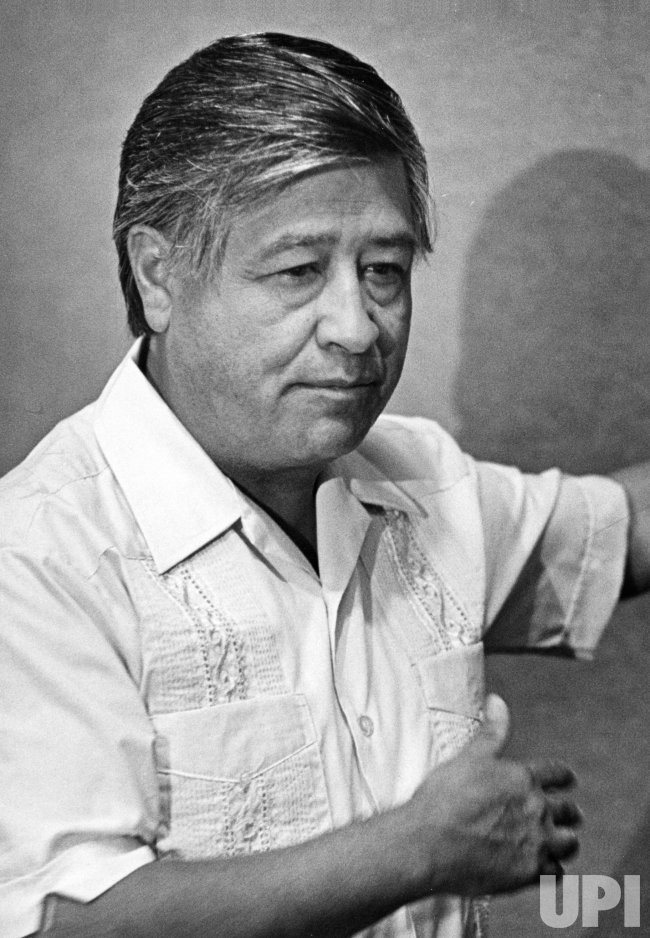 United Farm Workers leader Cesar Chavez launches campaign in San Jose to unite Hispanic voters