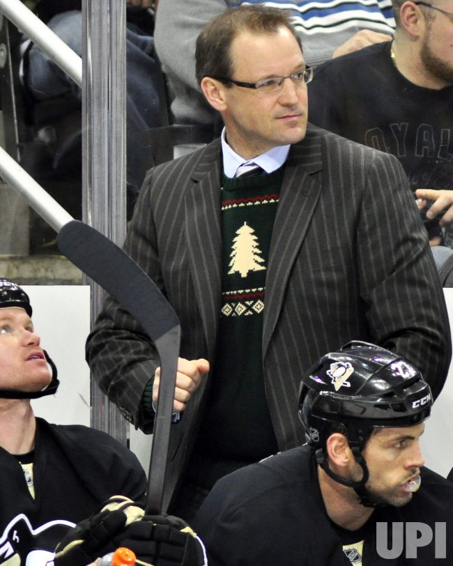 Penguins Head Coach Dan Bylsma Pittsburgh