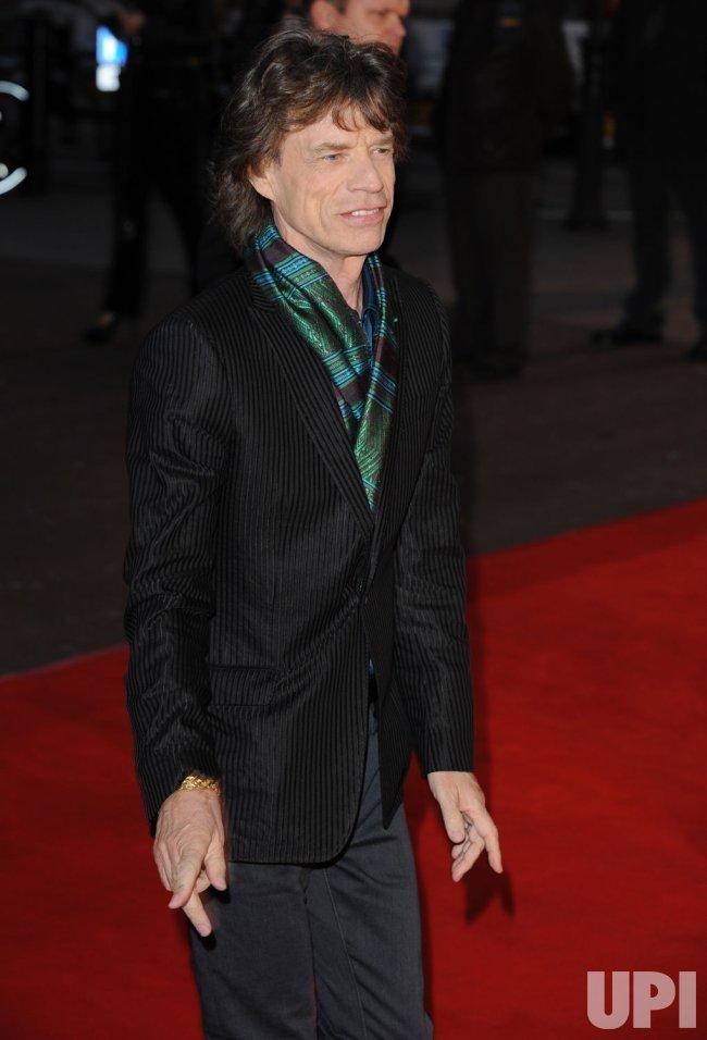 """Shine A Light"" premiere in London"