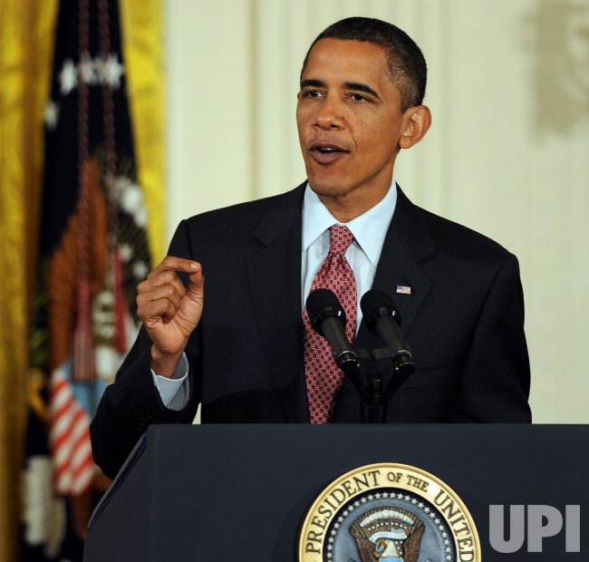 President Obama discusses health care reform in Washington