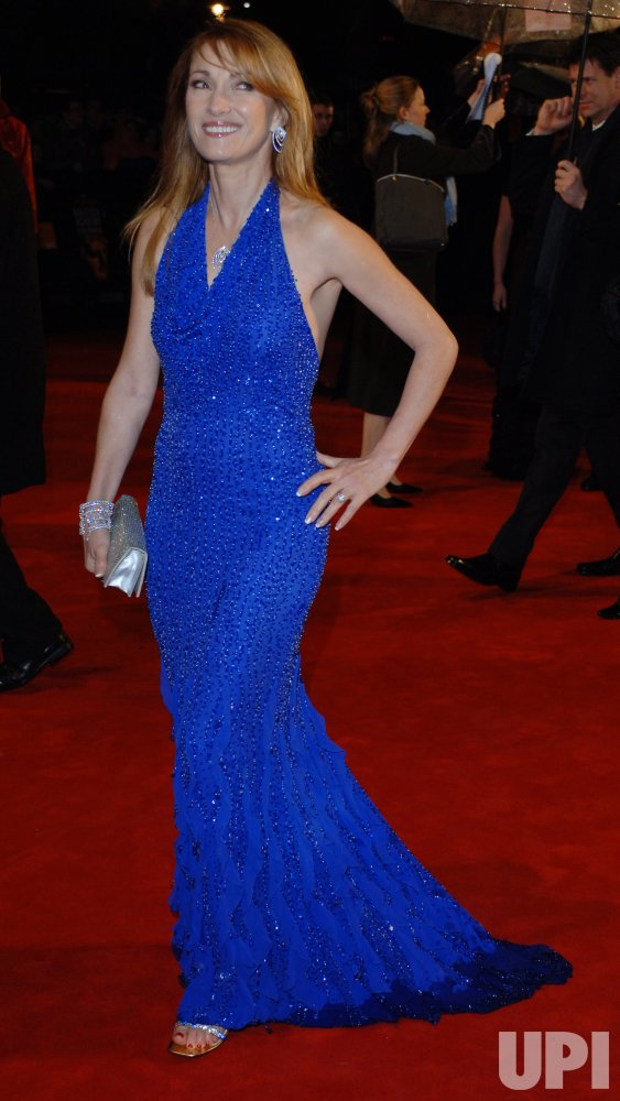 "ACTRESS JANE SEYMOUR AT ""ORANGE BRITISH ACADEMY FILM AWARDS"""