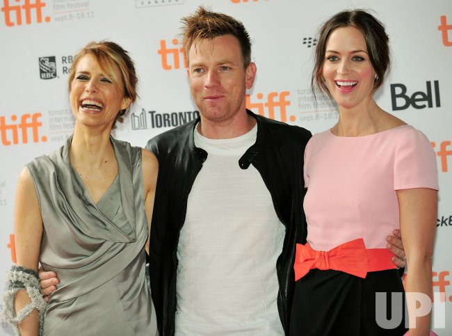 Emily Blunt, Ewan McGregor and Lynn Shelton attend ''Your Sister's Sister' premiere at the Toronto International Film Festival