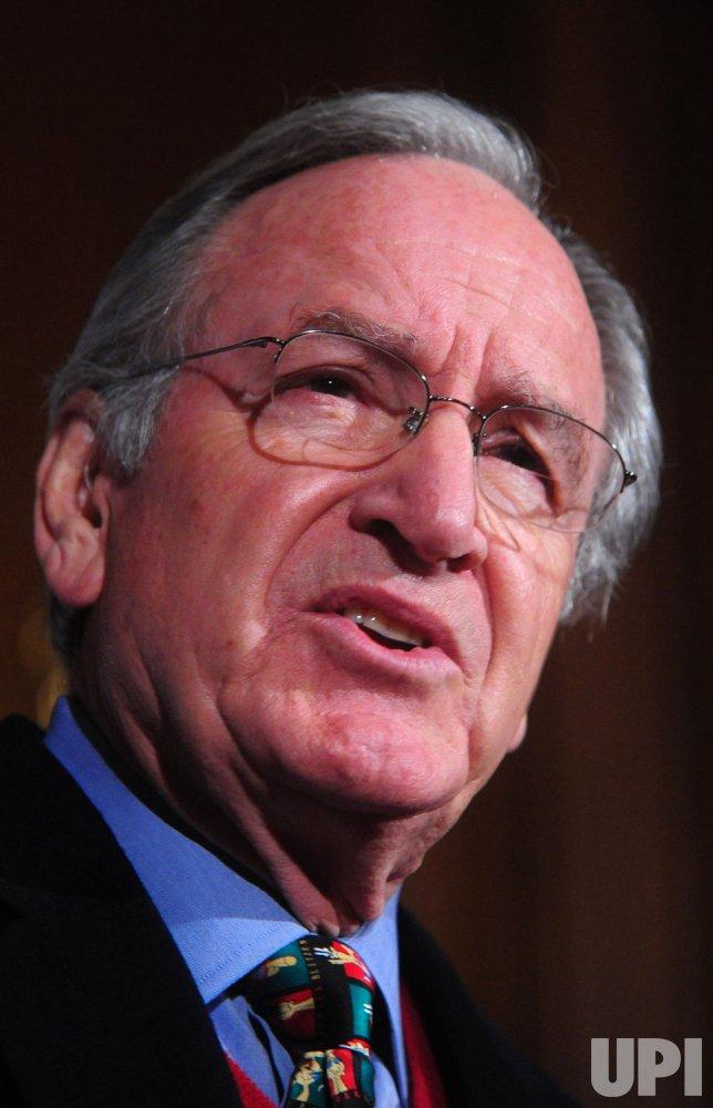 Sen. Tom Harkin (D-IA) speaks on health care in Washington