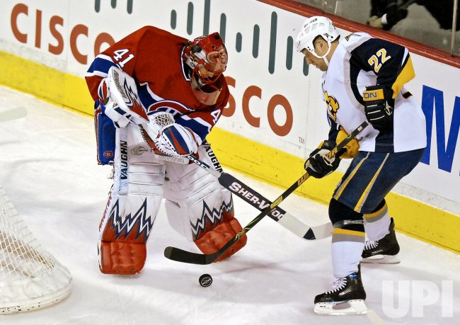 BUFFALO SABRES VS MONTREAL CANADIENS.