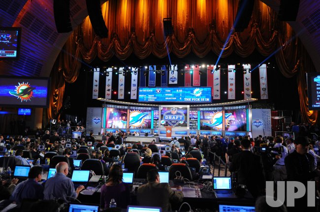 NFL Draft at Radio City Music Hall in New York