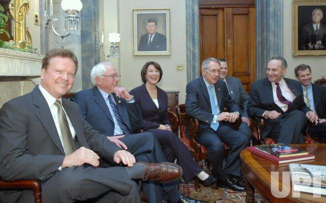 NEW DEMOCRATIC SENATORS MEET ON CAPITOL HILL