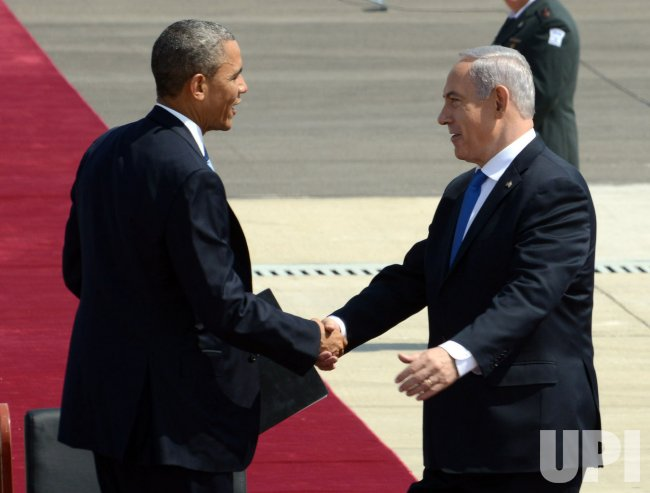 U.S. President Barack Obama Arrives In Israel