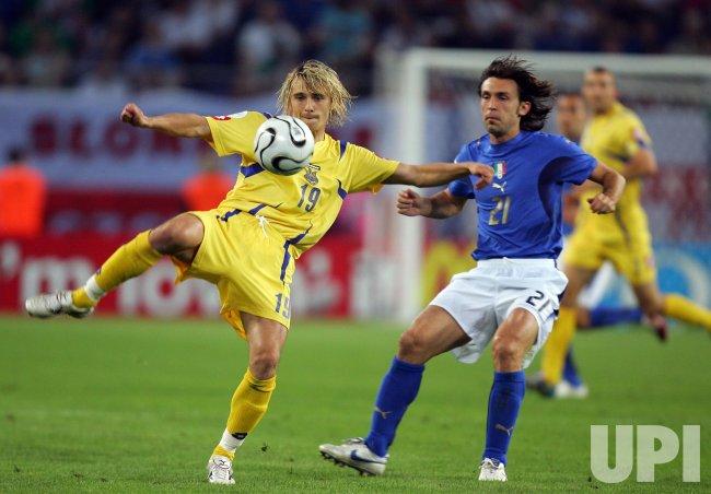 Fifa Soccer World Cup  Italy Vs Ukraine