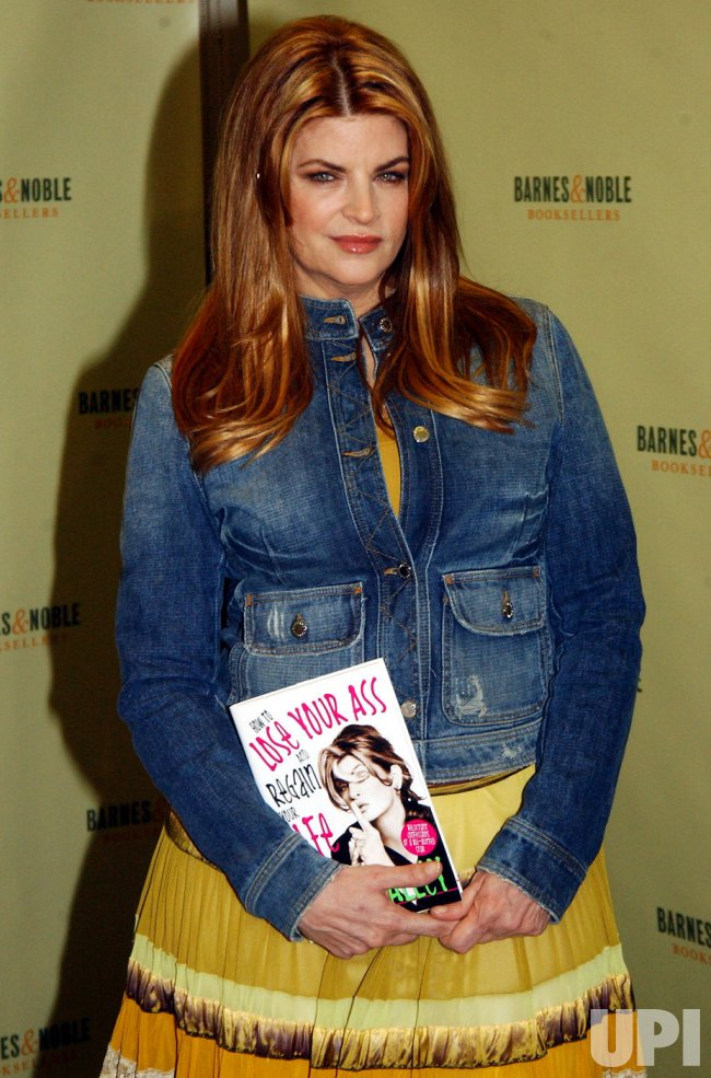 "KIRSTIE ALLEY PROMOS HER BOOK ""HOW TO LOSE YOUR ASS"""
