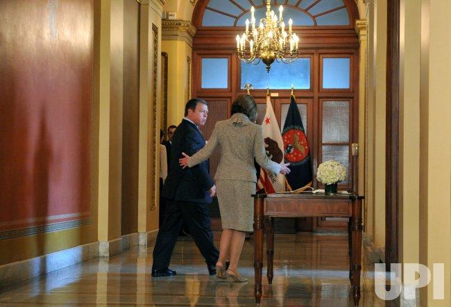 King Abdullah II of Jordan meets with Speaker Pelosi in Washington