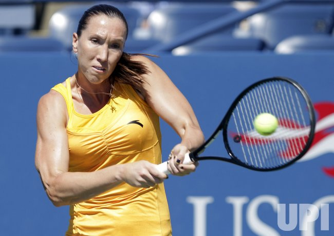 Jelena Jankovic at the U.S. Open Tennis Championships in New York