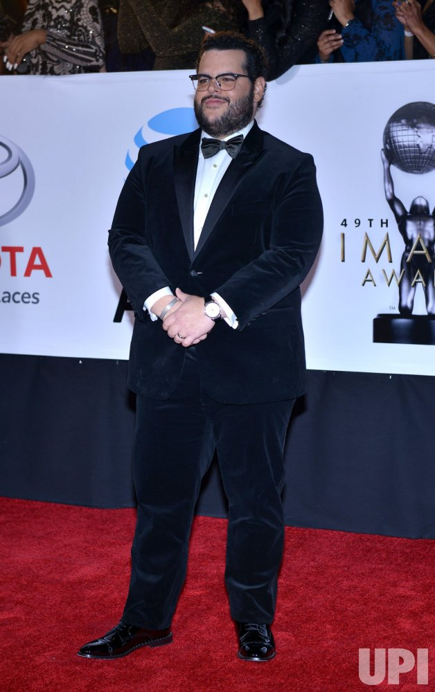 Josh Gad attends the 49th NAACP Image Awards in Pasadena, California
