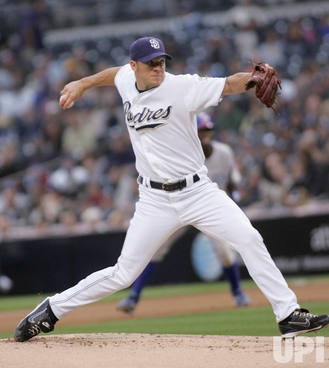 SAN DIEGO PADRES VS CHICAGO CUBS IN SAN DIEGO