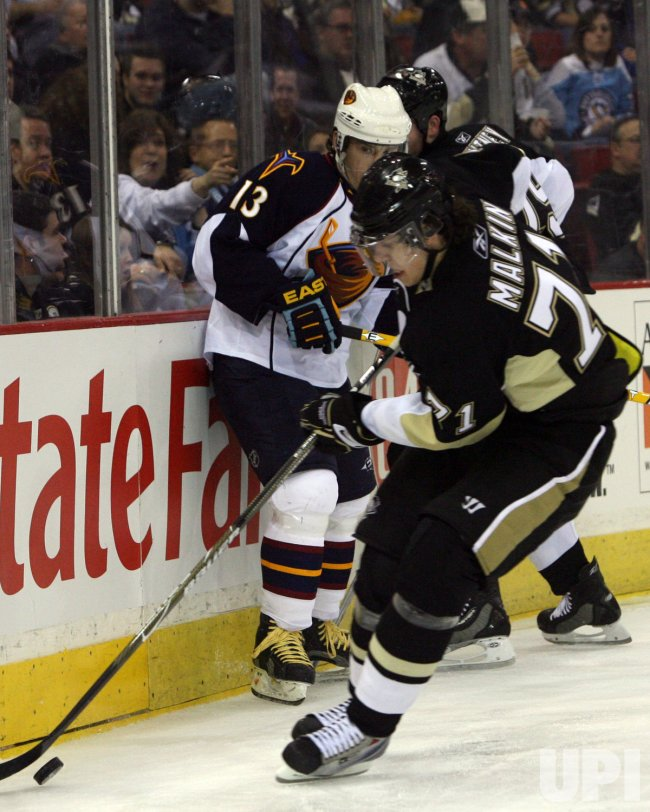 Pittsburgh Penguins vs Atlanta Thrashers