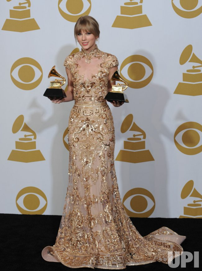Taylor Swift wins two Grammy Awards in Los Angeles