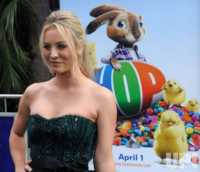 "Actress Kaley Cuoco attends the ""Hop"" premiere in Los Angeles"