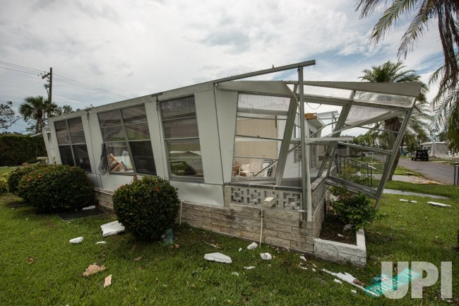 Naples Trailer Park Impacted by Hurricane Irma