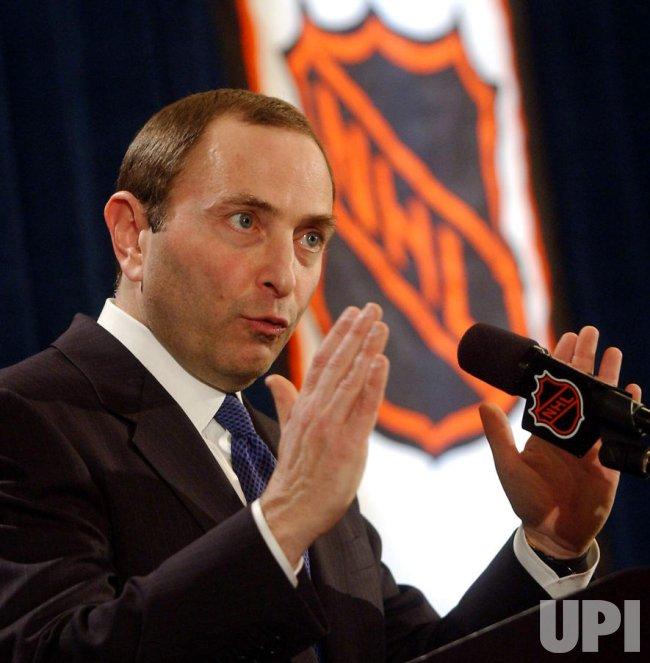 NHL COMMISSIONER BETTMAN TERMINATES HOCKEY SEASON DUE TO LABOR DISPUTE