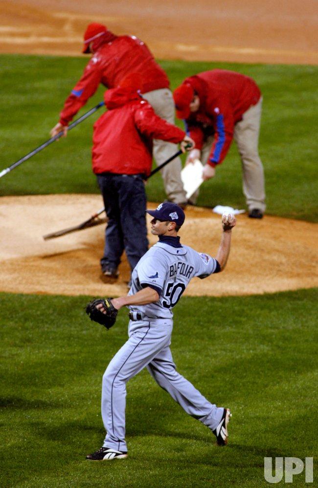 Tampa Bay Rays vs Philadelphia Phillies World Series Game 5