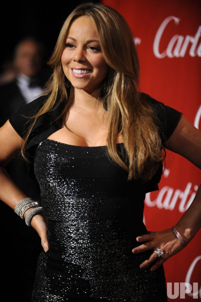 Mariah Carey attends the Palm Springs International Film Festival Awards Gala in Palm Springs, California