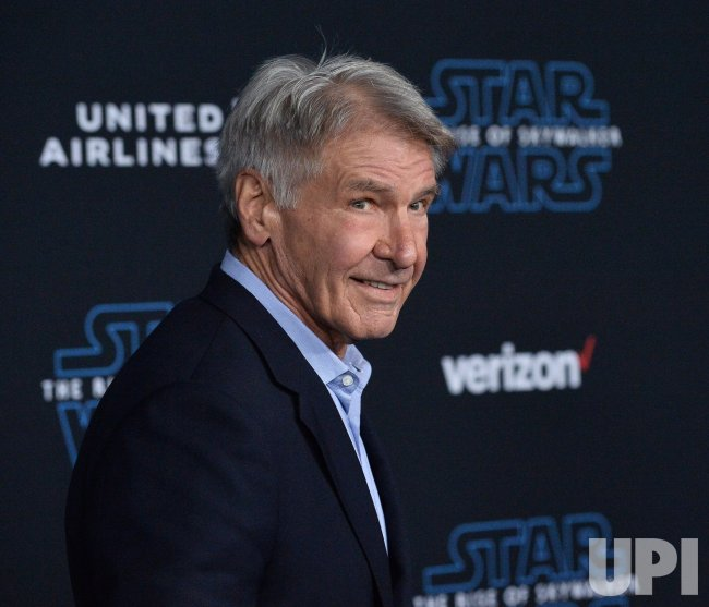 Harrison Ford Attends Star Wars The Rise Of Skywalker Premiere In Los Angeles Upi Com
