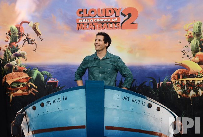 """Cloudy With a Chance of Meatballs 2"" photo call held in Los Angeles"