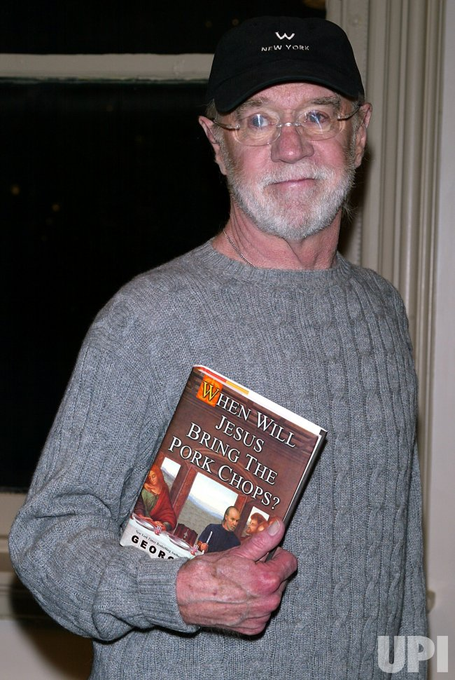 GEORGE CARLIN BOOKSIGNING