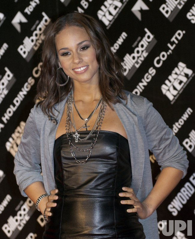 "Alicia Keys promotes her ""The Element of Freedom"" album in Japan"