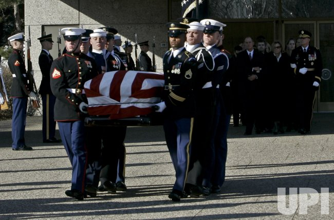 PRESIDENT GERALD FORD'S FINAL FUNERAL SERVICES AND BURIAL