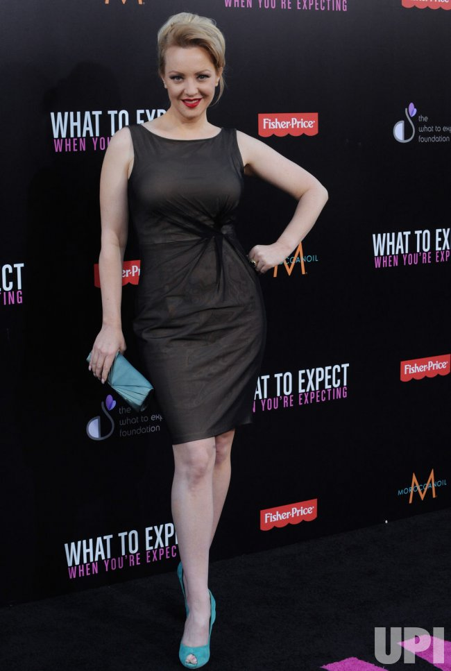 Wendi Mclendon Covey Attends The Premiere Of What To Expect When