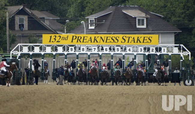 132 PREAKNESS STAKES IN BALTIMORE MARYLAND
