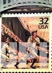 Babe Ruth stamp unveiled at Yankee Stadium