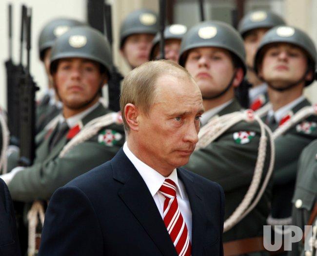 RUSSIAN PRESIDENT PUTIN VISITS AUSTRIA