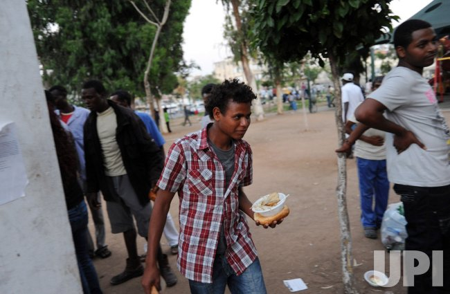 African Migrants In Tel Aviv