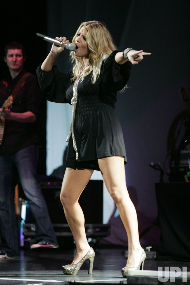 Jessica Simpson performs at Madison Square Garden in New York