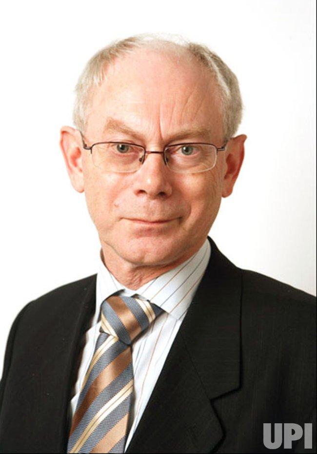 Prime Minister Herman Van Rompuy of Belgium named EU President