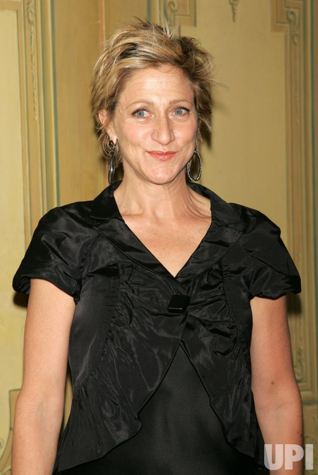 Edie Falco arrives at the Drama League's Annual Benefit Gala in New York