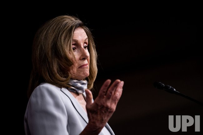 Speaker Pelosi holds a Press Conference in Washington, DC