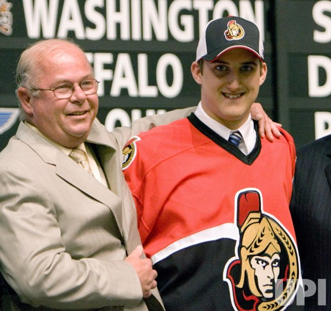 FIRST ROUND, 2006 NHL ENTRY DRAFT IN VANCOUVER