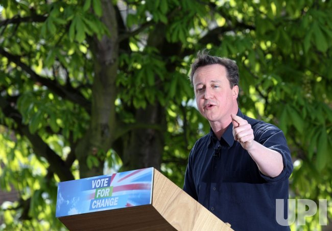 Conservative Party leader David Cameron campaigns in Essex