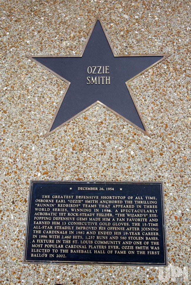Ozzie Smith honored