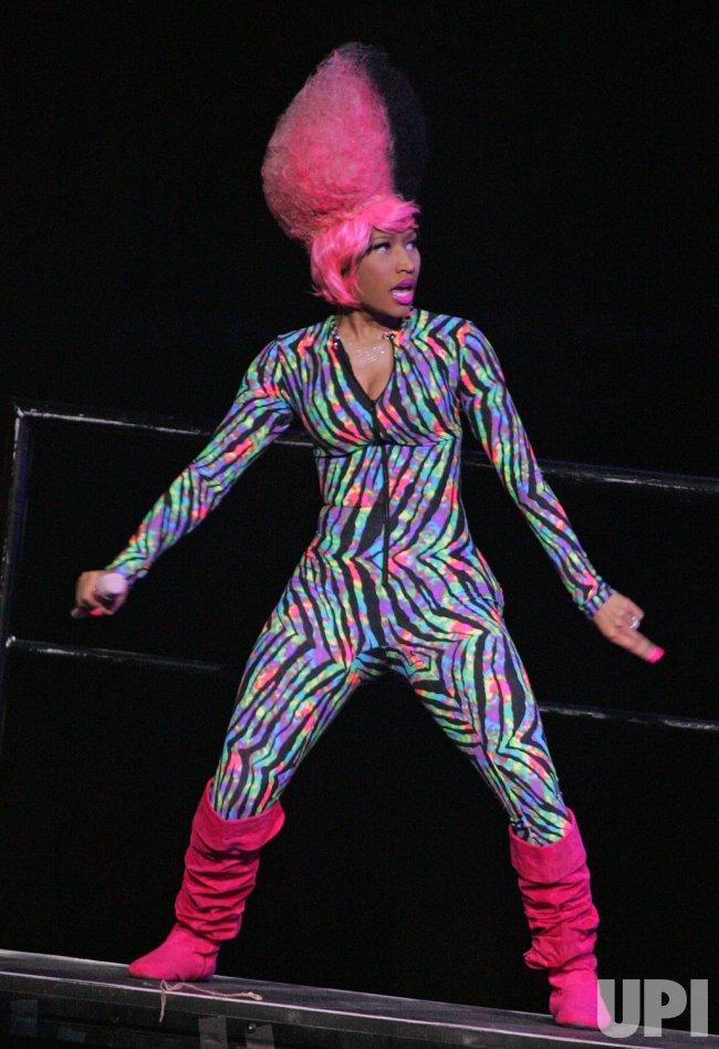 Nicki Minaj performs in concert in Sunrise, Florida