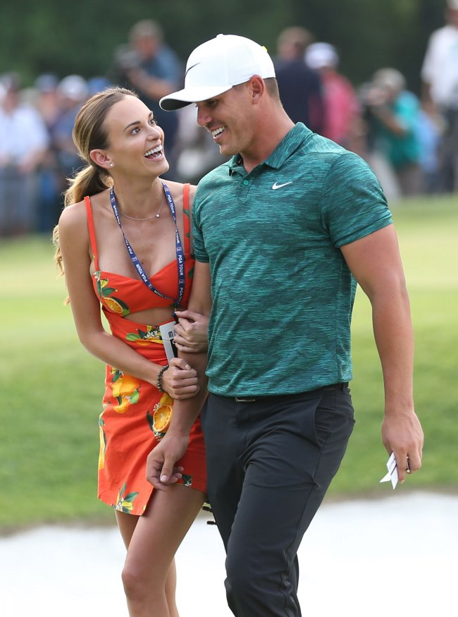 Pga Golfer Brooks Koepka Wins The 100th Pga Championship