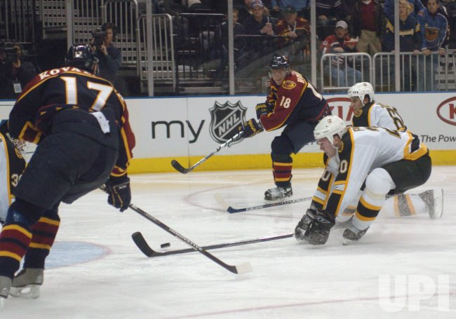 ATLANTA THRASHERS - BOSTON BRUINS