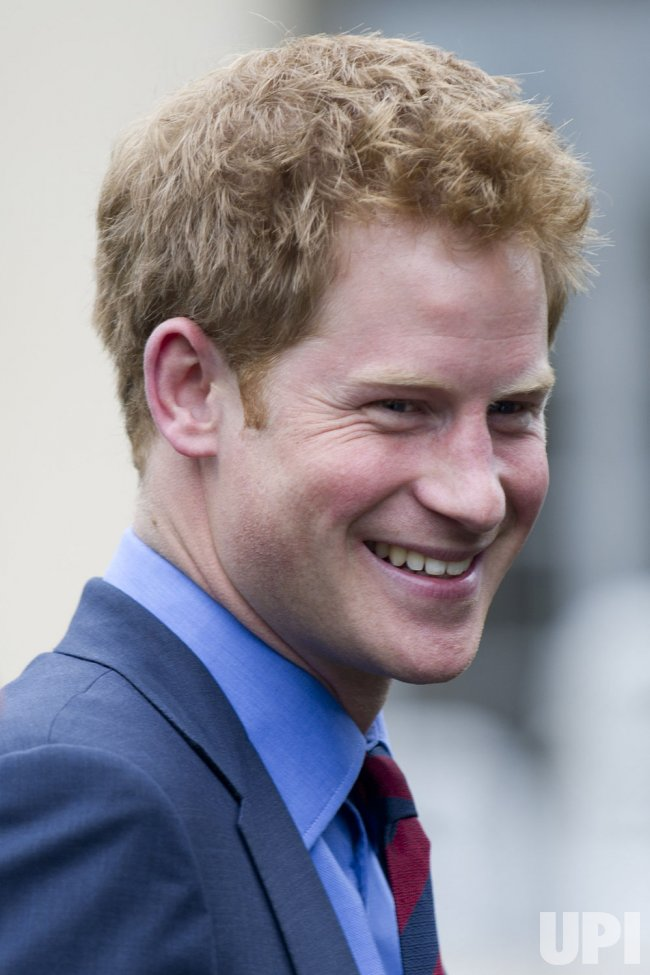 Prince Harry greets U.S. and British Wounded Warriors in Washington