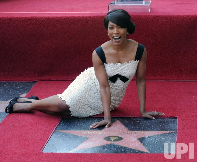 Angela Bassett receives star on Hollywood Walk of Fame in Los Angeles