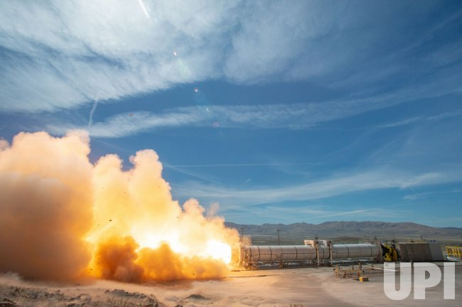 Northrop Grumman FSB-1 Booster Test for NASA's SLS Booster Test for Future Space Launch System Flights