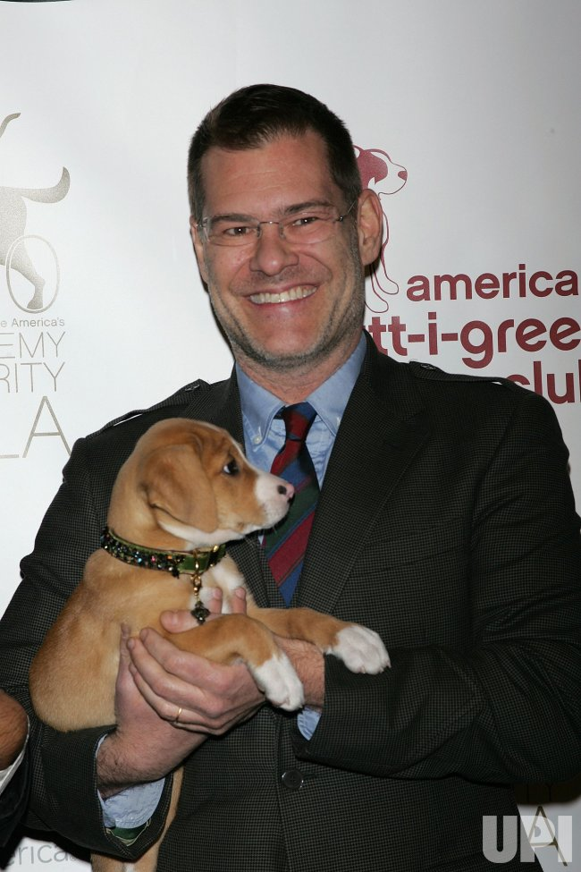 John Bartlett arrives at the 5th Annual Dogcatemy Celebrity Gala in New York