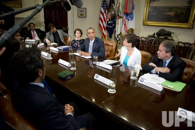 Obama Meeting on Immigration Reform in Washington